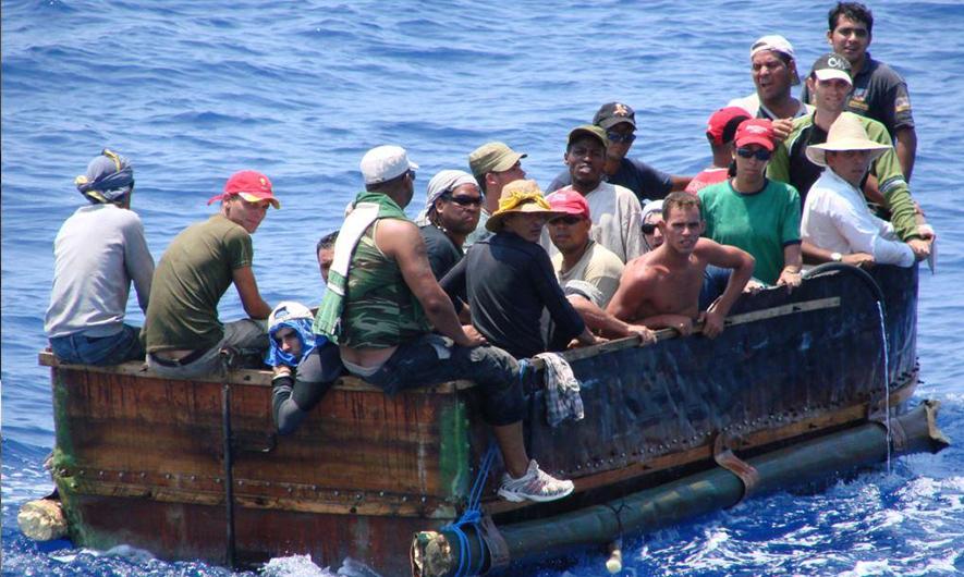 Cuban Rafters (Balseros)